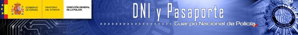título de la página DNI y Pasaporte