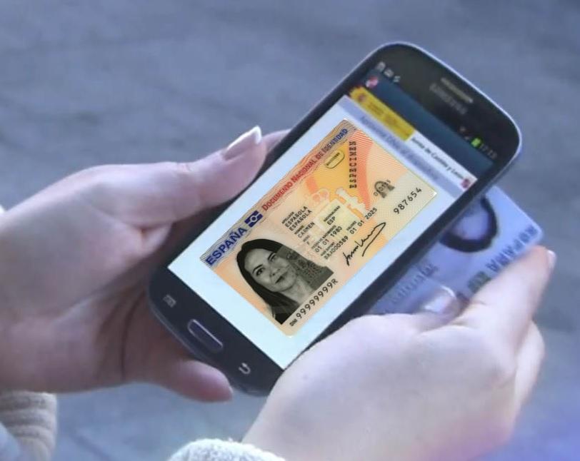 Vídeo explicativo del uso del NFC con el DNI 3.0