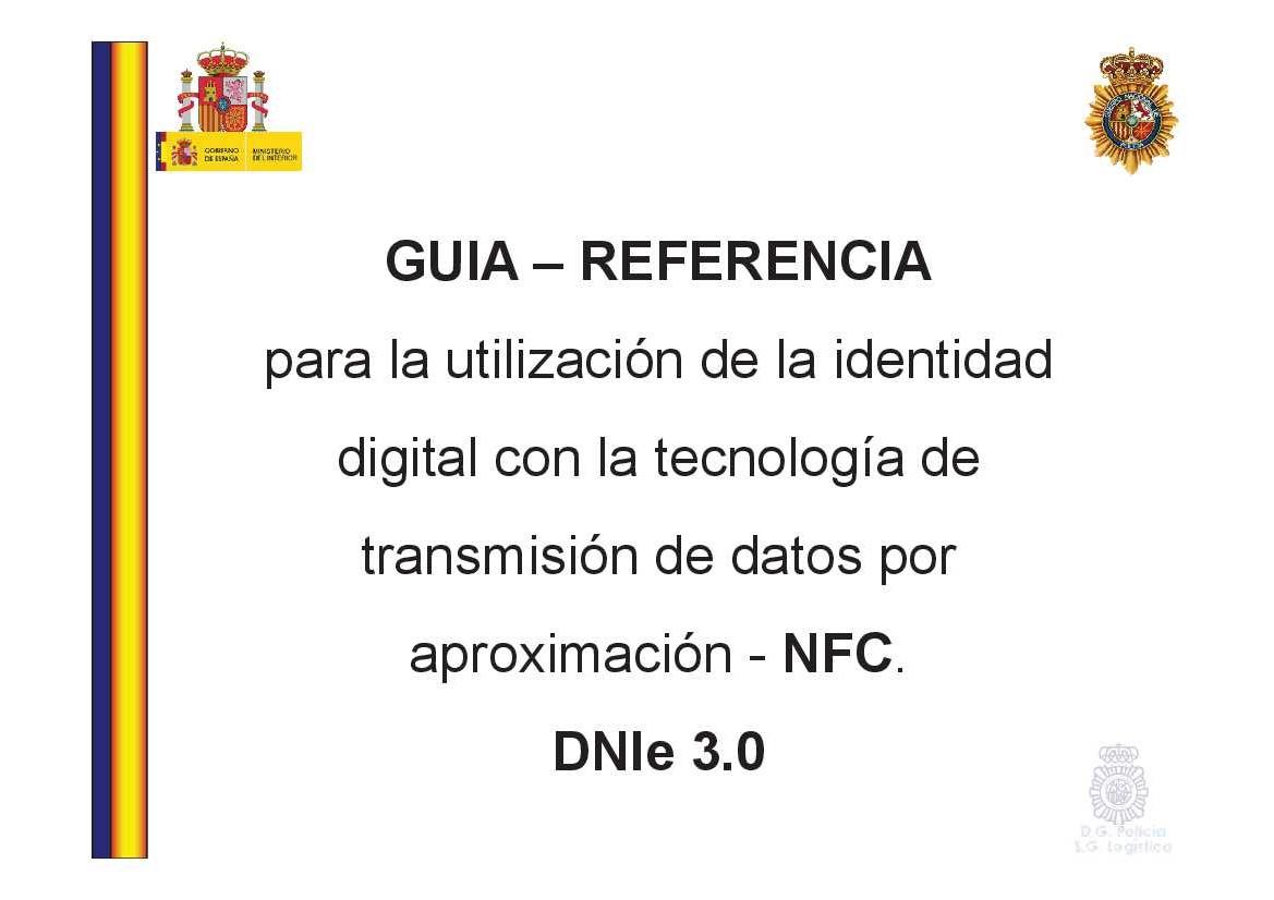 Abre ventana nueva. Guía de uso NFC con el DNI 3.0