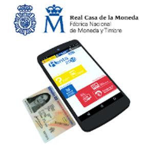 Ejemplo DNIe servicios AEAT. Abre Google Play