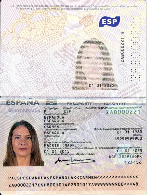 Abre ventana nueva. Impresión Pasaporte 3.0